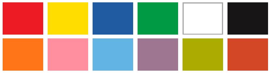 Culori PREFORM TCG