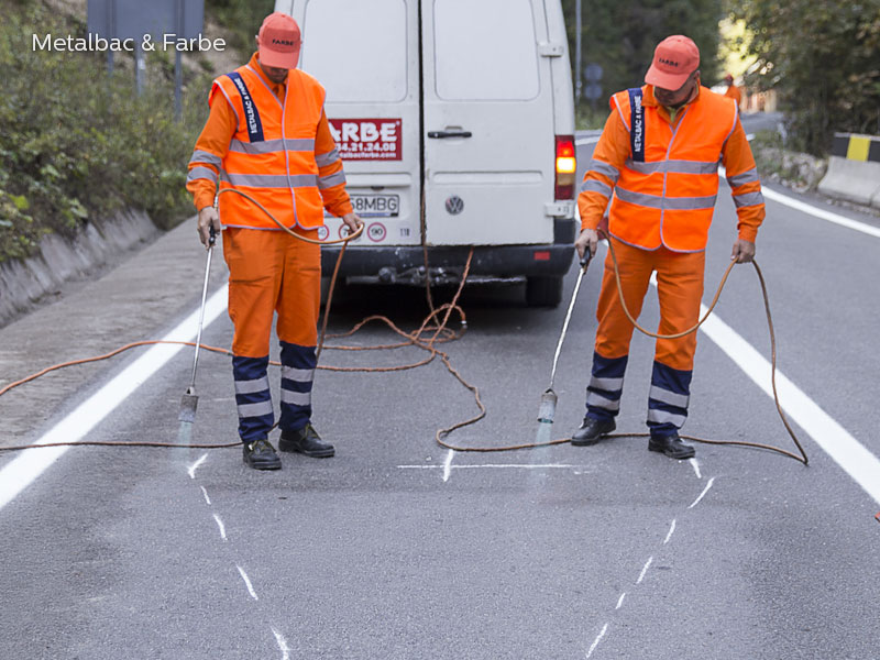 road marking signs; road traffic signs; road safety; street signs; parking lot striping paint; pedestrian crossings; preformed thermoplastic road marking; road marking paint; playground markings games; handicap parking sign; bicycle track
