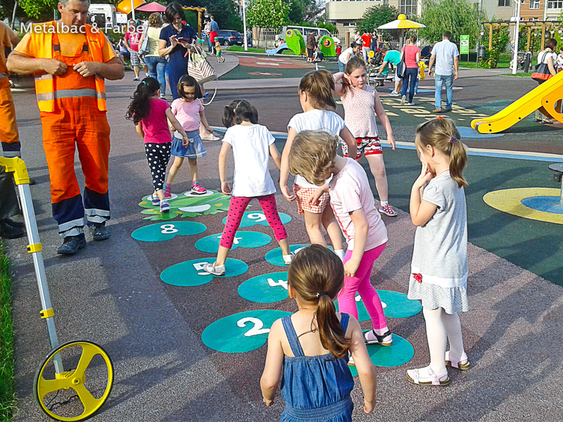 playground markings games; playground games for kids; outdoor play; math games; school yard games; educational games; asphalt games; interactive games; road markings signs; road traffic signs; road marking paint; compass games