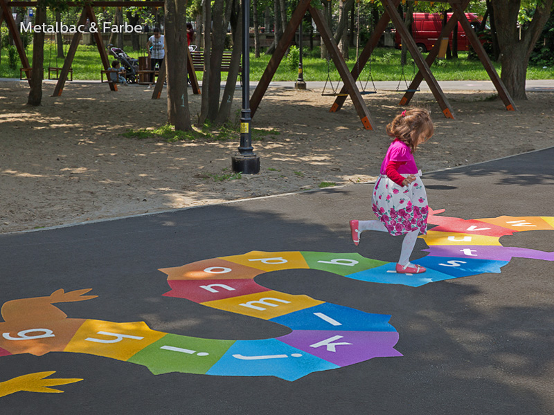 playground markings games; playground games for kids; outdoor play; math games; school yard games; educational games; asphalt games; interactive games; road markings signs; road traffic signs; dragon games; twister game; rocket games