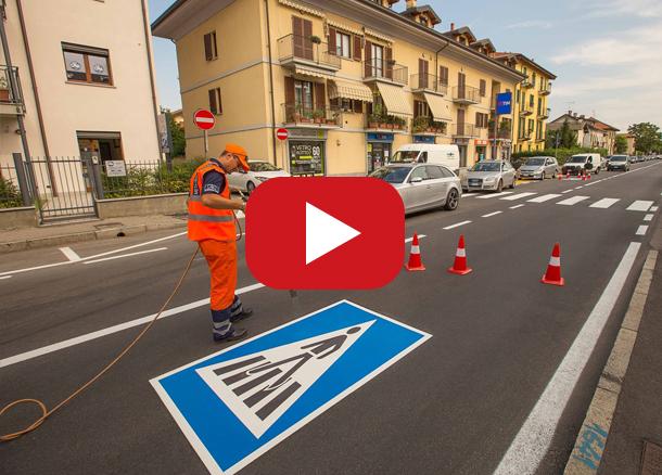 Verkehrszeichen; Straßenschilder; Straßenmarkierungsfarbe; thermoplastische Fahrbahnmarkierung; vorgefertigte thermoplastischen-thermoplastik; Fahrradwege; thermoplastik Straßenmarkierung; Strassenmarkierung; Spiele für Kinder