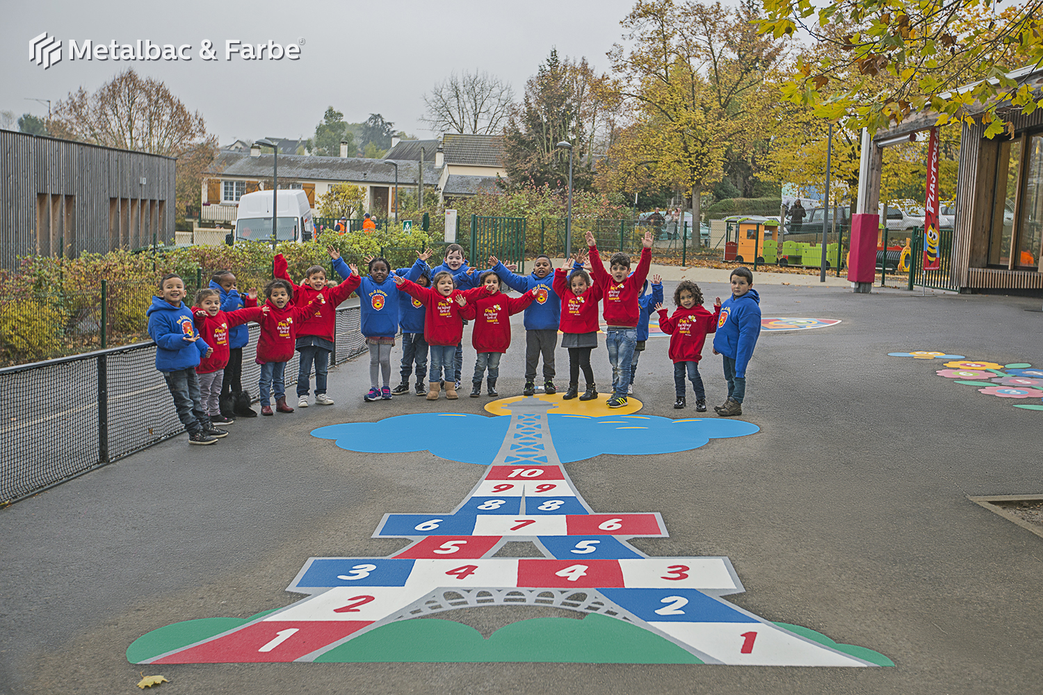 playground markings games; playground games for kids; outdoor play; math games; school yard games; educational games; asphalt games; interactive games; road markings signs; road traffic signs; parking lot stencils; caterpillar game; compass games