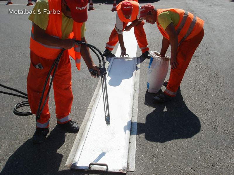 road marking paint; road marking signs; road traffic signs; road safety; street signs; pedestrian crossings; water based acrylic paint; bicycle track; playground markings games; water based road marking paint; parking lot stencils