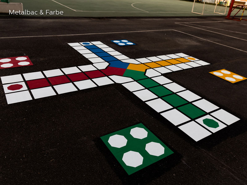 playground markings games; playground games for kids; outdoor play; math games; school yard games; educational games; asphalt games; interactive games; road markings signs; road traffic signs; compass games; road marking paint