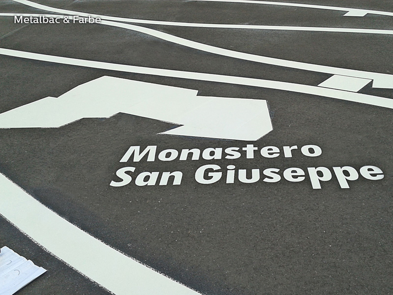 road marking signs; road traffic signs; road safety; street signs; parking lot striping paint; pedestrian crossings; preformed thermoplastic road marking; road marking paint; playground markings games; bicycle track; company logos