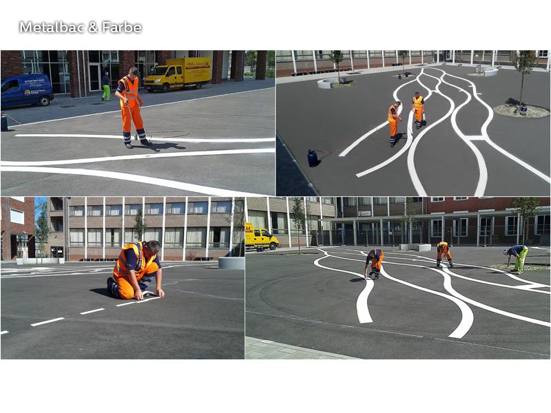 panneaux de signalisation; peinture pour marquage au sol; marquage routier horizontal thermocollant; signalisation routière horizontale; thermocollé préfabriqué; thermoplastique préfabriqué; signalétique au sol; limitation de vitesse; jeux de logique