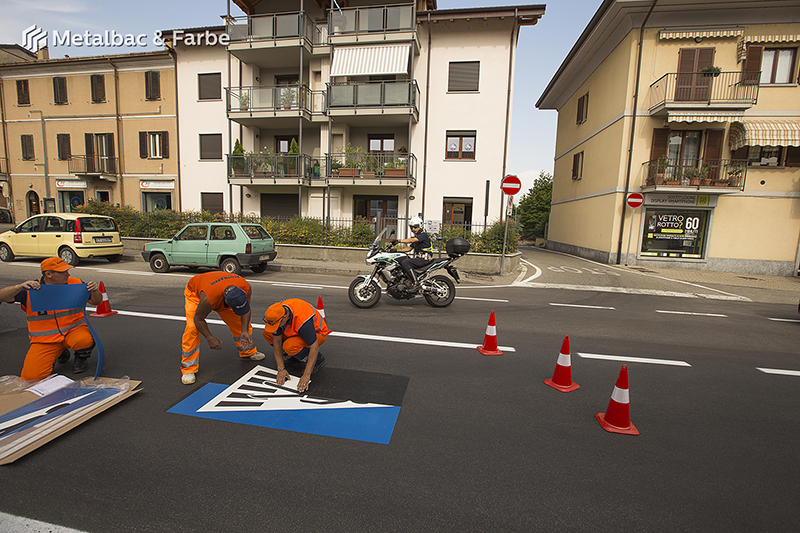 road marking signs; road traffic signs; road safety; street signs; parking lot striping paint; pedestrian crossings; preformed thermoplastic road marking; road marking paint; playground markings games; handicap parking sign