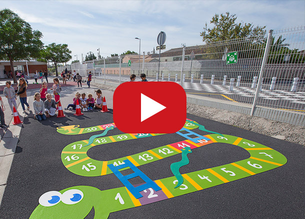 playground markings games; playground games for kids; outdoor play; math games; school yard games; educational games; asphalt games; interactive games; road markings signs; road traffic signs; preformed thermoplastic playground markings