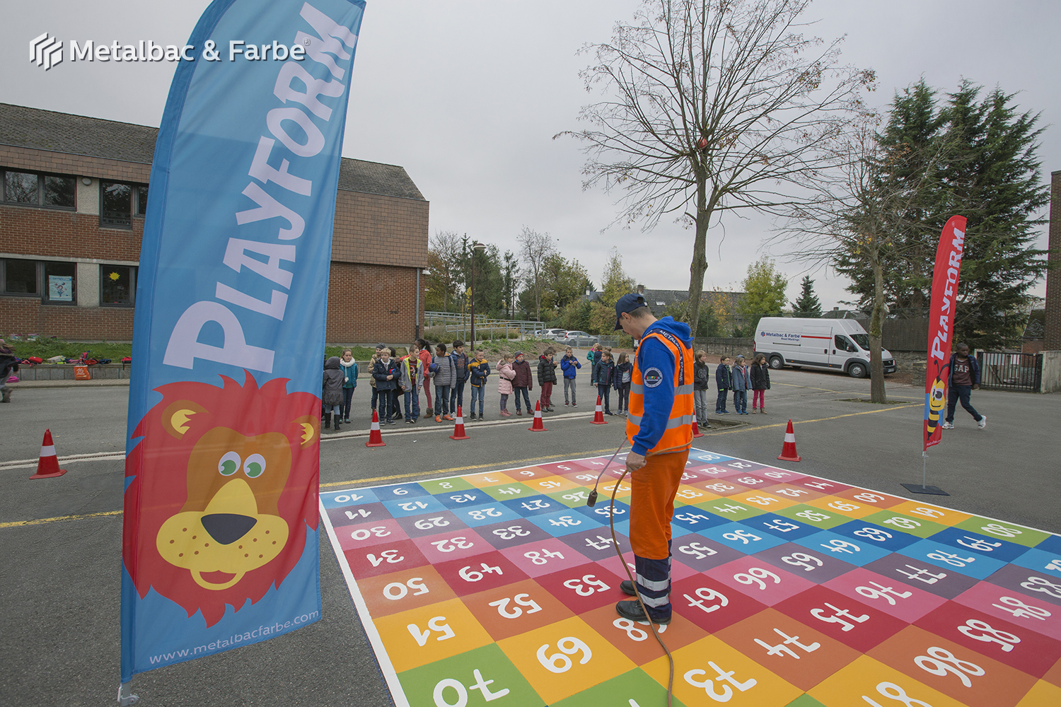 playground markings games; playground games for kids; outdoor play; math games; school yard games; educational games; asphalt games; interactive games; road markings signs; road traffic signs; alphabet game; snail games; handicap parking sign
