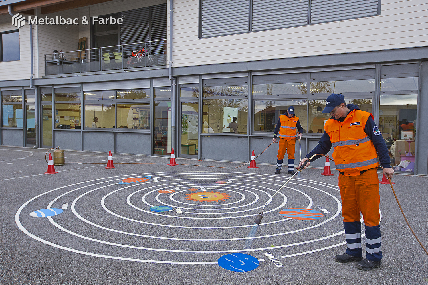 playground markings games; playground games for kids; outdoor play; math games; school yard games; educational games; asphalt games; interactive games; road markings signs; road traffic signs; turtle games; solar system games; street signs
