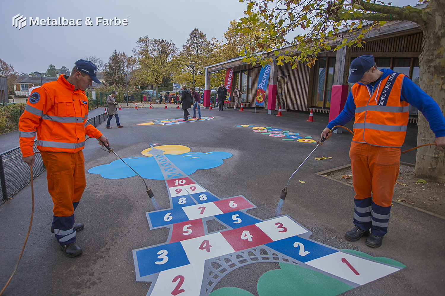 playground markings games; playground games for kids; outdoor play; math games; school yard games; educational games; asphalt games; interactive games; road markings signs; road traffic signs; alphabet game; animals games; handicap parking sign